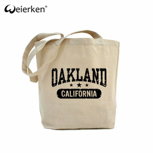 Simple Foldable Custom Canvas Bag