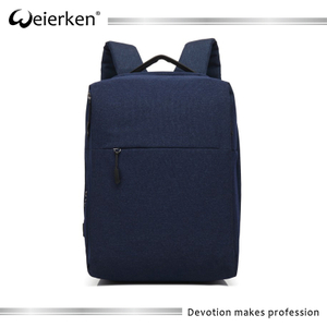 Korean style ultra slim water proof laptop backpack