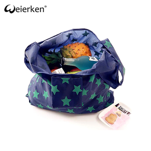 Top Quality Large Capacity Nylon Foldable Shopping Bag