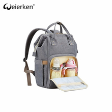 China Supplier Large Capacity Durable Baby Diaper Bag