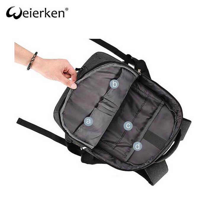 Professional Manufacturer Roomy Antitheft Backpack