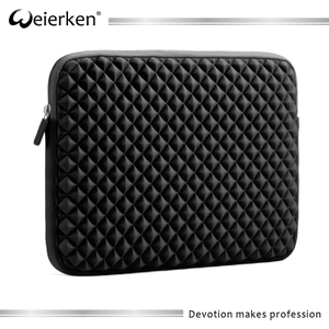 Laptop Sleeve, Evecase Diamond Foam Splash & Shock Resistant Neoprene Sleeve Notebook Case Bag