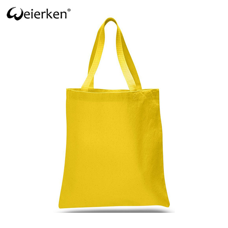 Best Quality Easy Portable Office Cotton Canvas Tote Bag