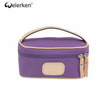 Hot Selling Convenient Leather Cosmetic Bag