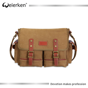 Online shop china alibaba shoulder canvas messenger bag