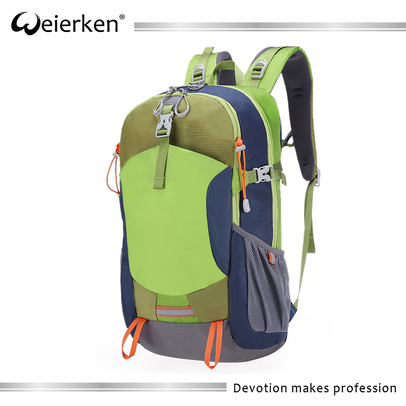 2017 new style fashion college bags hiking travel backpack OEM
