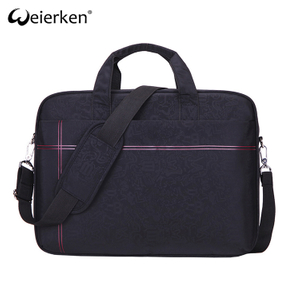 classic design multiple compartments computer bag women messenger bag