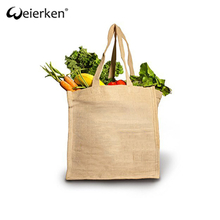 Cheap Price Durable Large Capacity Jute Shopping Bag
