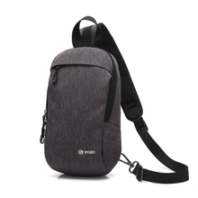 Gray Waterproof Poso Crossbody bag for Ipad in stock